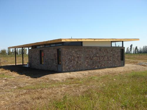 Grupo Talca — Vivienda del Cuidador _ Arquitecto : Gabriel Vergara