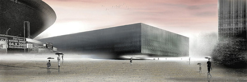 Dick Van Gameren Architecten, Jojko + Nawrocki Architekci — Katowice New Congress Hall