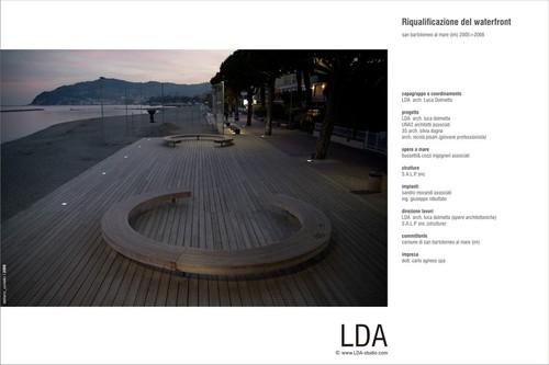LDA Studio — waterfront san bartolomeo al mare ed edifcio PNA