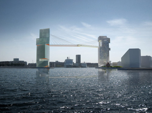 Steven Holl Architects — New Gateway for Copenhagen Harbor