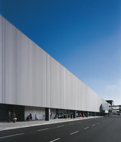 OAB – Ferrater & Asociados, Ramón Sanabria, Ramón Artigues — Edificio Intermodal del Aereopuerto de El Prat
