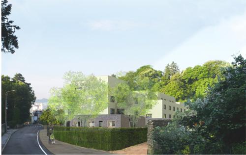 bernard quirot architecte associ s construction de 38 logements 31 35 rue fontaine ecu. Black Bedroom Furniture Sets. Home Design Ideas