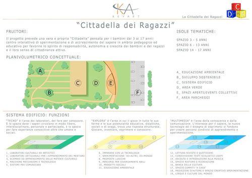 "Studio Keyart - Architecture Urban Design — ""Cittadella dei ragazzi"""