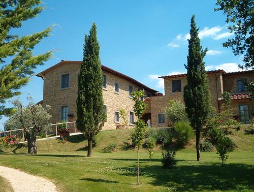 Nicola Meacci — Ricostruzione del borgo di Solaia