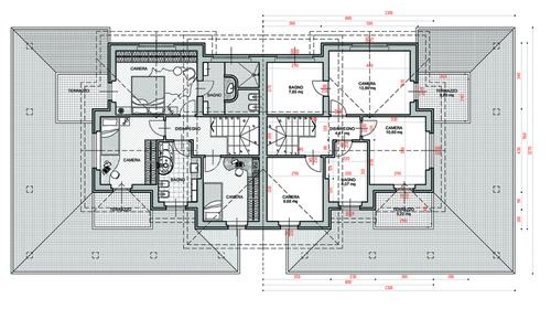 Ricerche correlate a progetto di una villa unifamiliare - Casa unifamiliare dwg ...