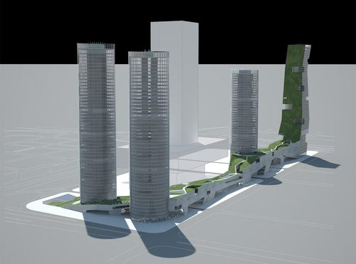 Steven Holl Architects — Shenzhen 4 Tower in 1