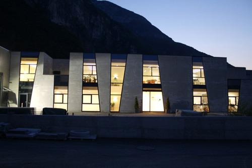weber+winterle architetti — Padiglione Uffici Prema