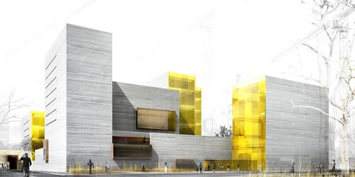 b.O architectes  — Maison des Arts et de la culture à Beyrouth