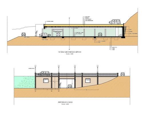 Arch eugenio cellini studio c i p a ripatransone ap for Progetti di costruzione di garage