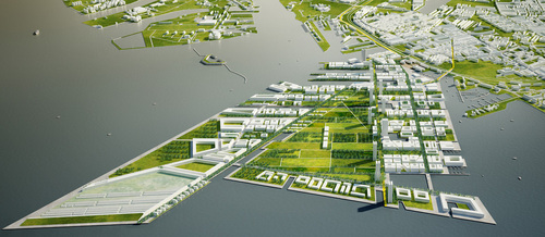 Iotti + Pavarani Architetti, Performa A+U — NORDHAVNEN: THE BREATHING CITY