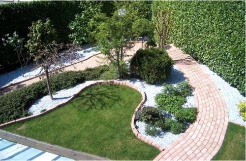 Raffaele miassot un giardino diverso ordine degli - Giardino con sassi bianchi ...