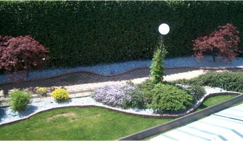 Raffaele miassot un giardino diverso divisare - Giardino sassi bianchi ...
