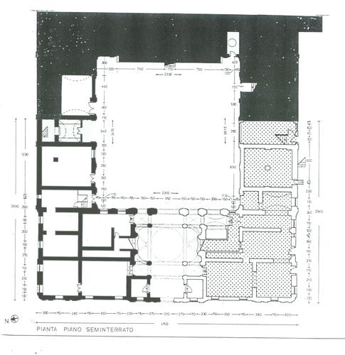 Enrico reale palazzo di francia ordine degli for Piano seminterrato