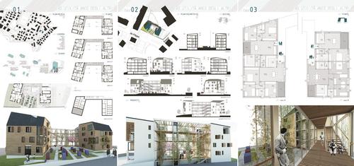 Argot ou la maison mobile luca abbadati luca astorri - Tavole di concorso architettura ...