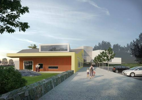 Auer & Sandås architects — Mårtensbro skola och daghem