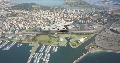 mijic architects — Riqualificazione del quartiere fieristico dell'Azienda Speciale Fiera Internazionale della Sardegna, Cagliari (I)