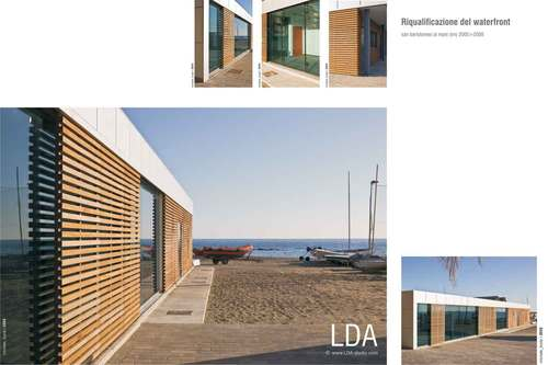 LDA Studio — Edificio PNA a San Bartolomeo al Mare (IM)
