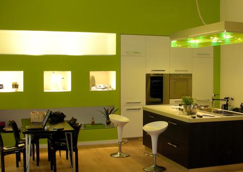 Parete Cucina Verde Acido - Idee Per La Casa - Nukelol.com