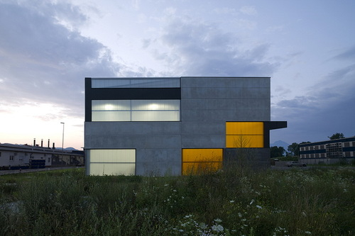 Ofis Arhitekti — Office, Store & shop concrete container