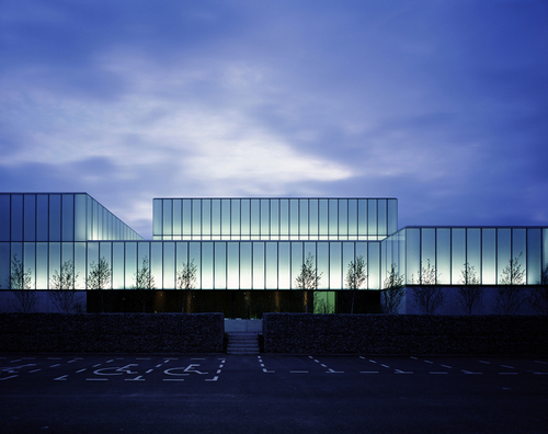 Terry Pawson Architects — VISUAL & the George Bernard Shaw Theatre