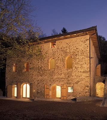 UNA2 Architetti Associati, Jacopo Tabarelli de Fatis — Maso del Castello di Segonzano, Trento