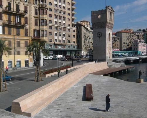 3S studio — Progetto di spazi pubblici tra il centro storico e la vecchia darsena di Savona