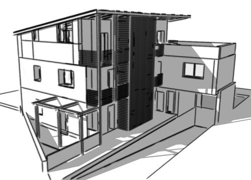 Cesare Mazza Architetto — Palazzina M