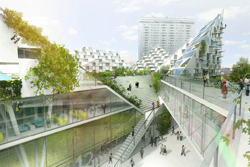 BIG - Bjarke Ingels Group — The World Village of Women Sports