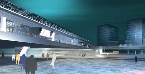 Arlotti, Beccu, Desideri, Raimondo, ABDR Architetti Associati — Nuova Stazione Alta Velocità Di Roma Tiburtina