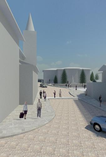 Cesare Mazza Architetto — Riqualificazione Piazza Giovanni XXIII°