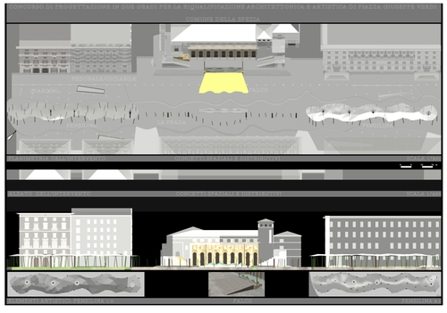 Emfarchitectural — Riqualificazione architettonica e artistica di piazza Giuseppe Verdi a La Spezia (1a fase)