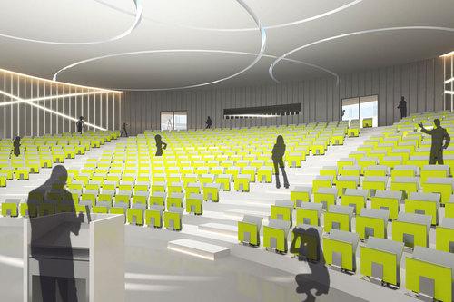 Henn Architekten — Neubau eines Lehr-, Lern- und Prüfungszentrums Klinikum der Goethe-Universität Frankfurt