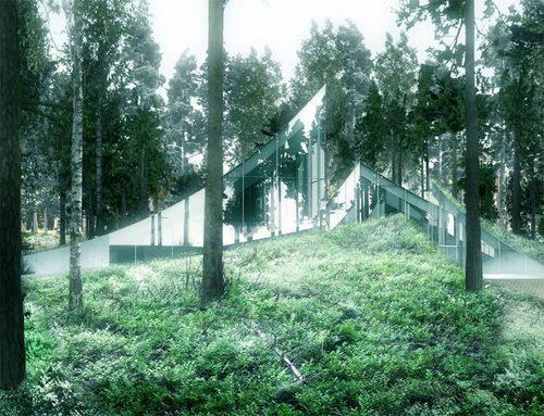 BIG - Bjarke Ingels Group, TOPOTEK 1 — The Clearing