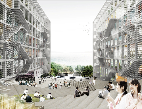 Leigh & Orange Architects, OMA — New campus for Chu Hai College of Higher Education