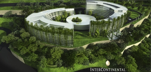 Paolo Cucchi Architects — International Business Centre and Intercontinental Hotel (Honorable Mention)