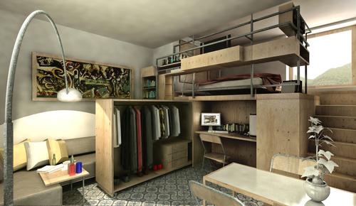 Tomaso garigliano piccolo loft ordine degli architetti for Piccolo loft a casa