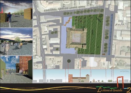 Themenos Progetti — Concorso d'idee per la riqualificazione ed il riuso del Castello Visconteo e dell'arena circostante