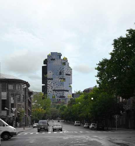 Francesco Fulvi — International Business Centre and Intercontinental Hotel (Honorable Mention)