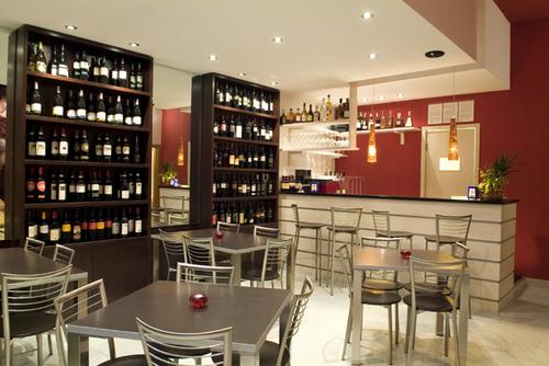 sergio stigliano arredamento del wine bar i baccanti