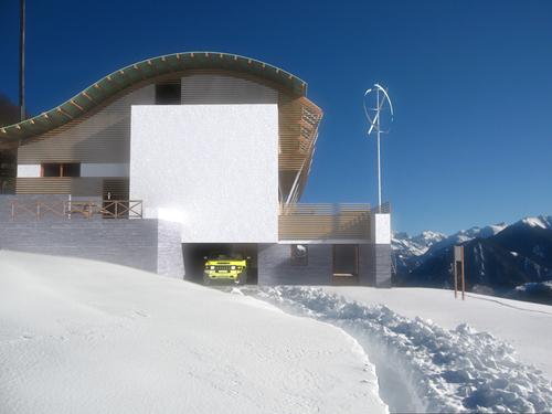 Ing andrea magario arch erika terlini riprogettazione for Planimetrie della serra