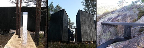 Paesaggi Straordinari, Paolo Mestriner - studioazero, Massimiliano Spadoni Architetto, Luca Molinari, Luca Poncellini, Francesco Librizzi, Rintala Eggertsson Architects — Into the landscape