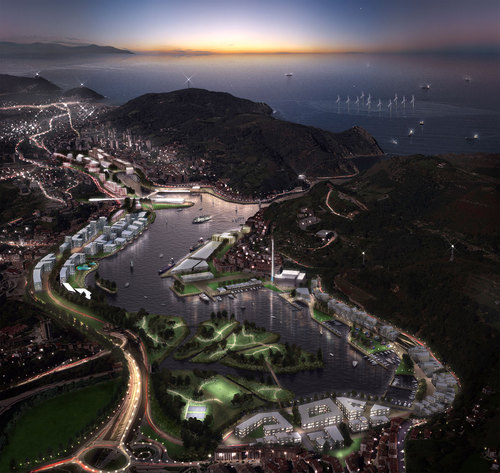 S333 Architecture + Urbanism, Balmori Associates — The Bay of Pasaia Masterplan