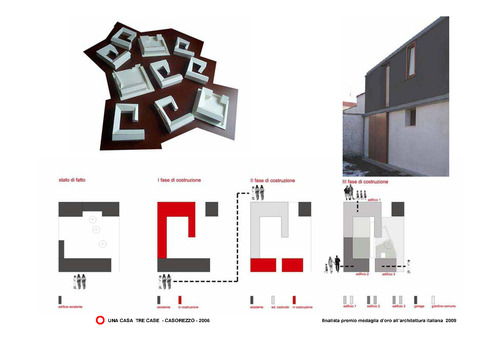 ifdesign Franco Tagliabue Volontè - Ida Origgi — una casa tre case