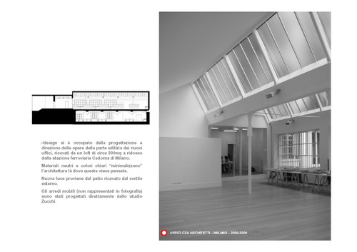 ifdesign Franco Tagliabue Volontè - Ida Origgi — uffici CZA