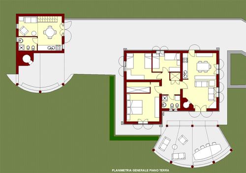 Mario chiavetta alcune case ordine degli architetti for Planimetrie della casa quadrata