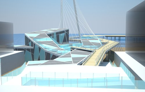 Eugenio Aglietti — Degree Thesis | Pedestrian bridge design