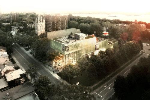 Provencher Roy + associés, OMA — Expansion of the Musée national des beaux-arts du Québec (MNBAQ)