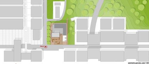 """Bombina Coschignano, Miria Servidio, Giorgio Cofone — Edificio polifunzionale """"Lezioni di Campus"""" + edificio per associazioni studentesche accreditate"""