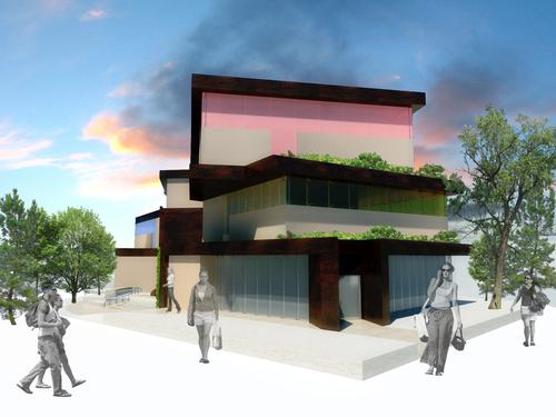 """nicola posteraro — Edificio polifunzionale """"Lezioni di Campus"""" - Rende (CS)"""