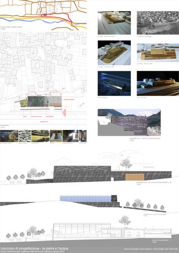 Remo Dorigati_OdA associati, Tiziano Cattaneo, Chiara Dorigati, Massimo Corsico — Concorso di progettazione per la realizzazione di un edificio polifunzionale